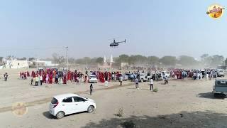 दूल्हा उड़ा हेलीकॉप्टर लेके चारो तरफ से गावो के लोग उमड़ पड़े देखने SEKHAWATI WEDDING
