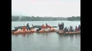 11 drown in Bhopal lake after boat capsizes during Ganesh visarjan