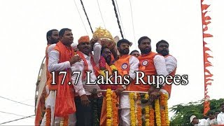 BALAPUR GANESH LADDU SOLD TO KOLAN RAM REDDY FOR Rs.17.7 Lakhs.