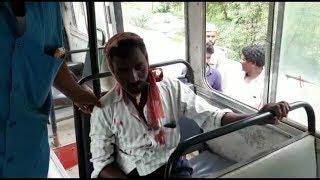 Nashe Ki Halat Mein Ye shaks Bus Se Gir Gaya AT Chandrayangutta Barkas | @ SACH NEWS |