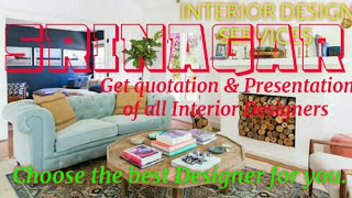 SRINAGAR    INTERIOR DESIGN SERVICES ~ QUOTATION AND PRESENTATION~ Ideas ~ Living Room ~ Tips ~Bedro