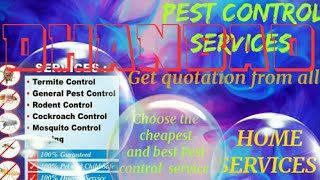 DHANBAD    Pest Control Services ~ Technician ~Service at your home ~ Bed Bugs ~ near me 1280x720 3