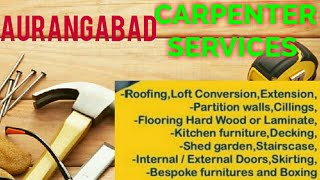 AURANGABAD   Carpenter Services  ~ Carpenter at your home ~ Furniture Work  ~near me ~work ~Carpente