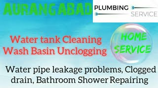 AURANGABAD   Plumbing Services ~Plumber at your home~   Bathroom Shower Repairing ~near me ~in Build