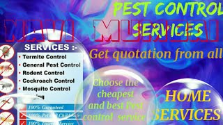 NAVI  MUMBAI    Pest Control Services ~ Technician ~Service at your home ~ Bed Bugs ~ near me 1280x7