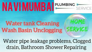 NAVI  MUMBAI     Plumbing Services ~Plumber at your home~   Bathroom Shower Repairing ~near me ~in B