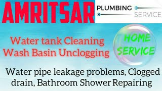 AMRITSAR    Plumbing Services ~Plumber at your home~   Bathroom Shower Repairing ~near me ~in Buildi