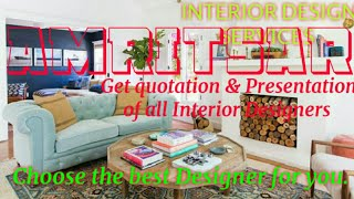 AMRITSAR    INTERIOR DESIGN SERVICES ~ QUOTATION AND PRESENTATION~ Ideas ~ Living Room ~ Tips ~Bedro
