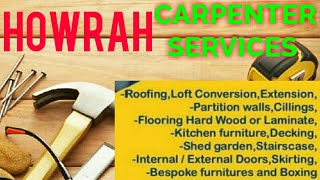 HOWRAH     Carpenter Services  ~ Carpenter at your home ~ Furniture Work  ~near me ~work ~Carpentery