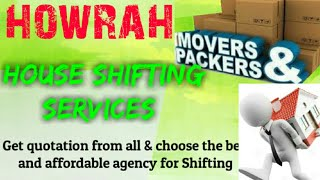 HOWRAH     Packers & Movers ~House Shifting Services ~ Safe and Secure Service  ~near me 1280x720 3