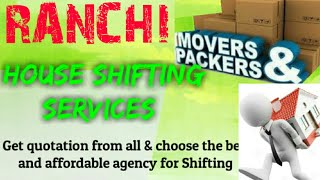RANCHI    Packers & Movers ~House Shifting Services ~ Safe and Secure Service  ~near me 1280x720 3 7