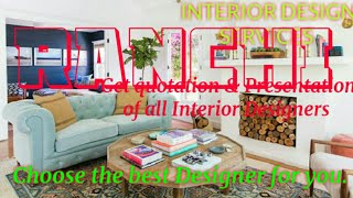 RANCHI     INTERIOR DESIGN SERVICES ~ QUOTATION AND PRESENTATION~ Ideas ~ Living Room ~ Tips ~Bedroo