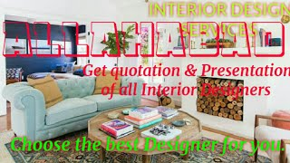ALLAHABAD     INTERIOR DESIGN SERVICES ~ QUOTATION AND PRESENTATION~ Ideas ~ Living Room ~ Tips ~Bed