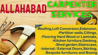 ALLAHABAD    Carpenter Services  ~ Carpenter at your home ~ Furniture Work  ~near me ~work ~Carpente
