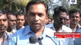 Aurangabad : कारची रीक्षाला धडक ;  रिक्षाचालक ठार तर ६ शाळकरी चिमुकले जखमी……
