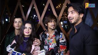 Mr. Faizu,Avneet ,Riyaz Ali - Siddharth & Abhishek Nigam Birthday 2019 & Attachment Song Launch