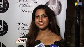 Reem Sameer Shaikh At Siddharth & Abhishek Nigam Birthday & Attachment Song Launch