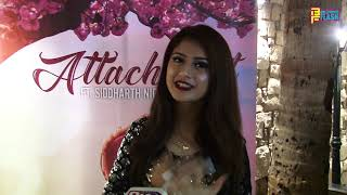 Arishfa Khan At Siddharth & Abhishek Nigam Birthday 2019 & Attachment Song Launch