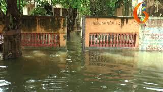 તાલુકા પંચાયતની  કચેરીના કપાઉન્ડ તેમજ રસ્તા પર છેલ્લા પાંચ દીવસથી વરસાદી પાણી ભરાયા12 09 2019