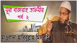 সূরা বাকারাহ তাফসীর পর্ব-২ । Mawlana Habibullah Misbah Waz Mahfil | Downlaod Bangla Waz 2019
