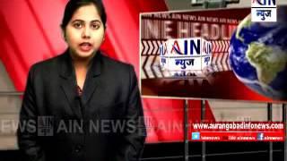 Aurangabad : वडगावात भररस्त्यावर सांडपाण्याचे तळे ; नागरिकांच्या आरोग्याचा प्रश्न बनला गंभीर