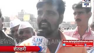 Aurangabad : चारा टंचाईमुळे गंगापुर तालुक्यातील पशुधन बाजारात विक्रीसाठी दाखल