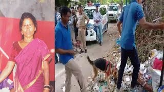 Khatoon Ka Rape AUr Qatal At Saidabad Vijaynagar Colony | Police AT Spot | @ SACH NEWS |