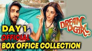 Dream Girl Day 1 Official Box Office Collection | Ayushmann Khurrana | Nushrat