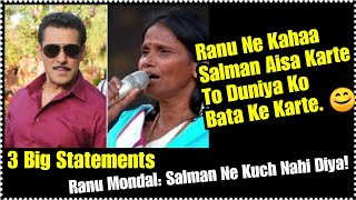 Ranu Mondal Gave Shocking Statements About 3 Things That Salman Khan Reportedly Done To Him!