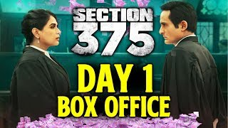SECTION 375 | Day 1 Official Box Office Collection | Richa Chadha, Akshaye Khanna