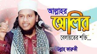 Bangla Waz  । আল্লাহর অলির বেলায়তের শক্তি | অলি উল্লাহ  ফারুকী । mufti waliullah faruqi | 2019