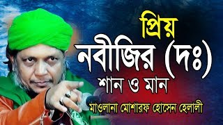 Bangla Waz | প্রিয় নবীজির (দঃ) শান | মোশারফ হোসেন হেলালী । Mawlana Mosharaf Hossain Helai | 2019