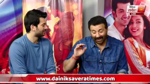 Exclusive Interview : Sunny Deol | Karan Deol | Sahher Bambba | Pal Pal Dil Ke Paas