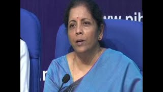 Small tax payers with minor procedural default will not be prosecuted: FM  Nirmala Sitharaman