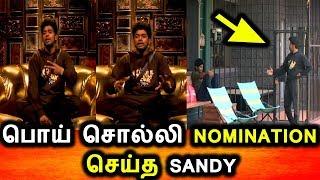 BIGG BOSS TAMIL 3-16th SEPTEMBER 2019-PROMO 3-DAY 85-BIGG BOSS TAMIL 3 LIVE-Sandy Fake Nomination