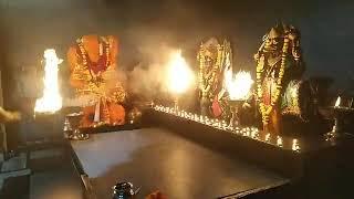 Sandhya Aarti Shree Shanidham,Asola 14 August 2019