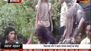 महाराजा सूर सैन जयंती पर निकाली गई शोभायात्रा