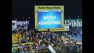 India vs South Africa 1st T20:Match abandoned due to heavy rain