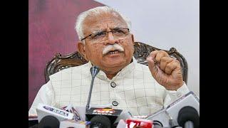Like Assam NRC will be implemented in Haryana says CM Manohar Lal Khattar
