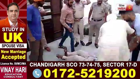 Gangster Jaggu Bhagwanpuria के साथ सामने आई Ajnala SI मारपीट मामले के आरोपी की तस्वीर