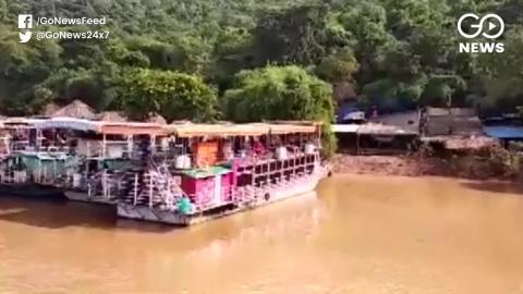 पर्यटकों की नाव गोदावरी नदी में डूबी, 12 लोगों की मौत