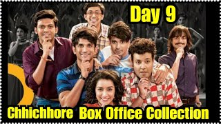 Chhichhore Movie Box Office Collection Day 9