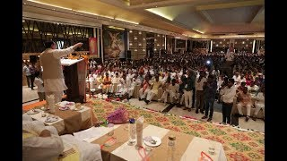 Shri JP Nadda addresses Shakti Kendra Pramukh Sammelan in Kurukshetra, Haryana