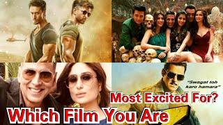 War Vs Housefull 4 Vs Dabangg 3 Vs Good Newwz, Which Film You Are Most Excited For?