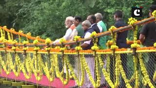 PM Modi visits Khalvani Eco-Tourism site in Kevadiya