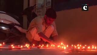Sardar Sarovar Dam lit up ahead of PM Modis visit