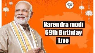 Narendra Modi 69th Birthday Special Live    Modi 69th Birthday celebration