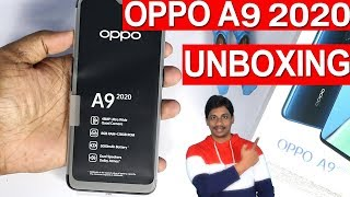Oppo a9 2020 Unboxing telugu