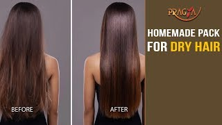 Watch Homemade Pack and Tips for Dry Hair