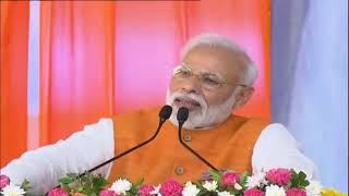 PM Shri Narendra Modi addresses public meeting in Kevadia, Gujarat